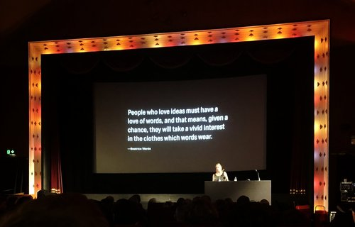 Ampersand Conf – what typography can do and where it might be going