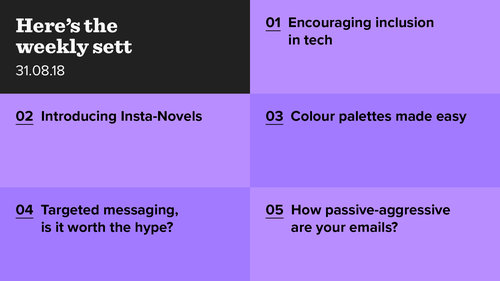 Diversity, digital novels and colour searching