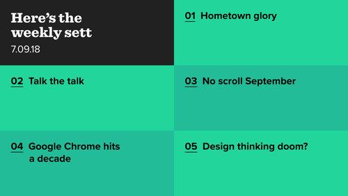 London tech, Google Chrome hits ten and design thinking backlash