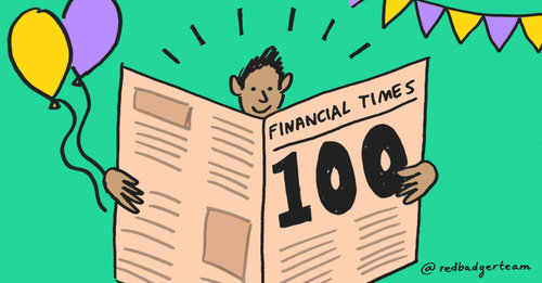We're part of the 'FT Future 100 UK 2018' list