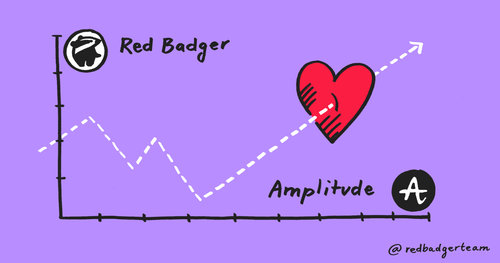 Red Badger is Amplitude's first UK partner