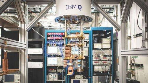 Programming a quantum computer: generating true random numbers