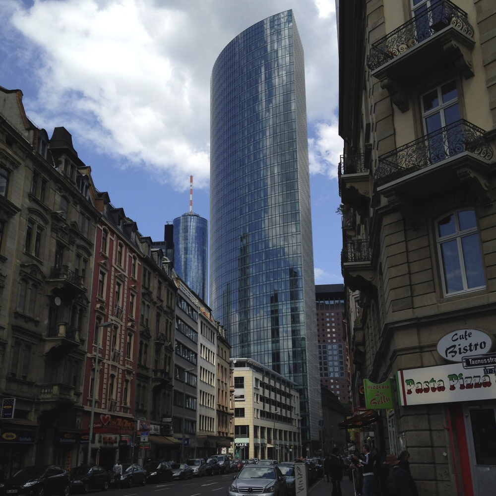Frankfurt, a blend of old and new