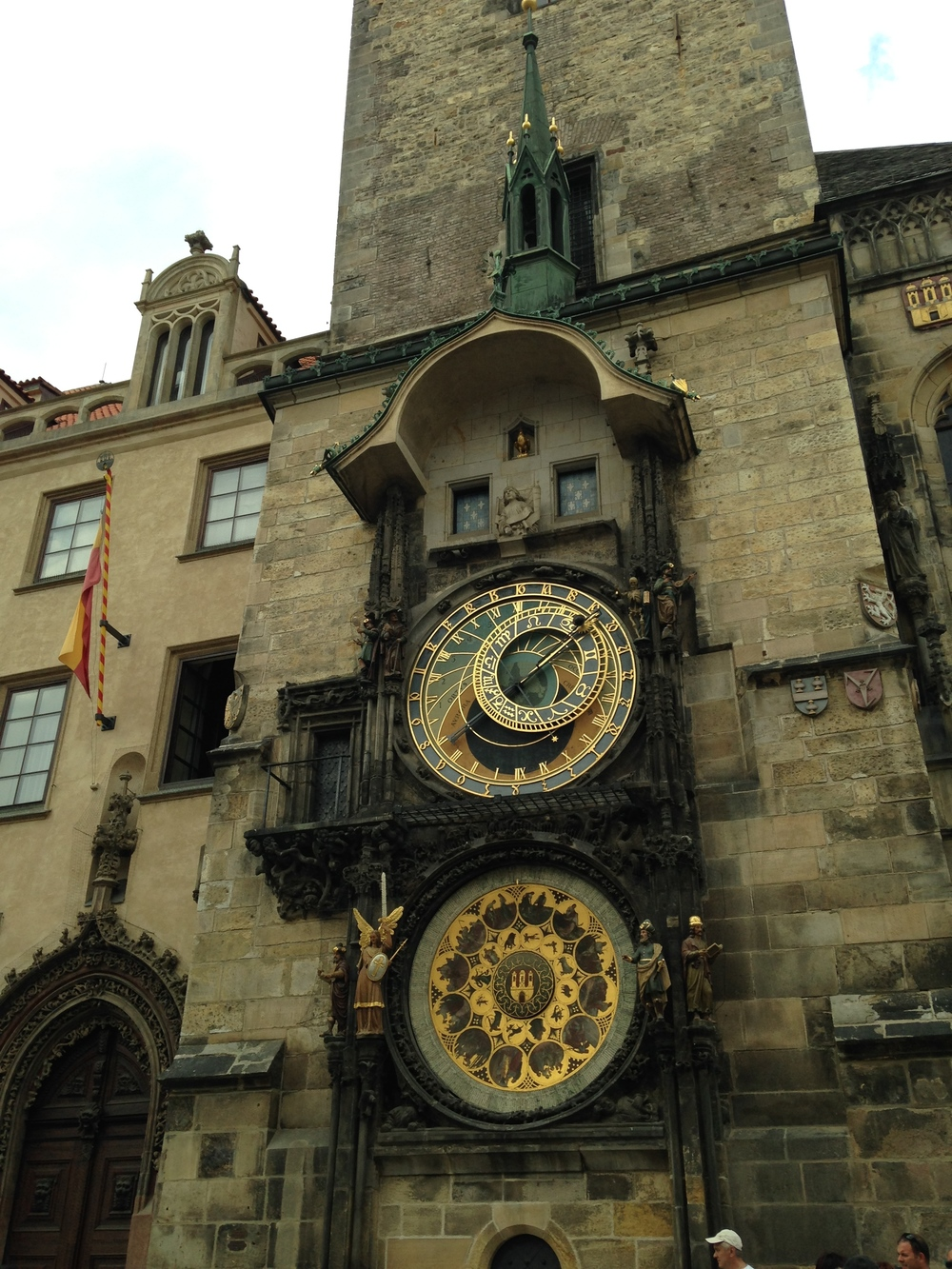 Astronomical Clock This clock is located in Old Town Square and is the oldest Astronomical Clock in the world. Check out the Walk of the Apostles figure show every hour.
