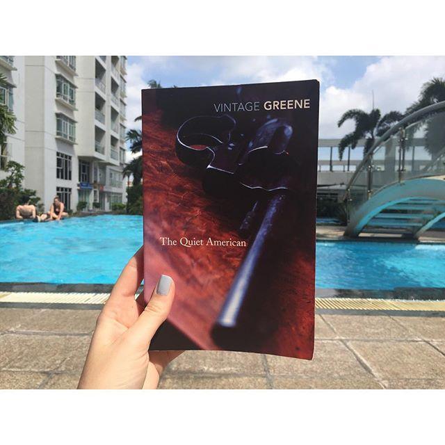 #thequietamerican #grahamgreene #currentlyreading