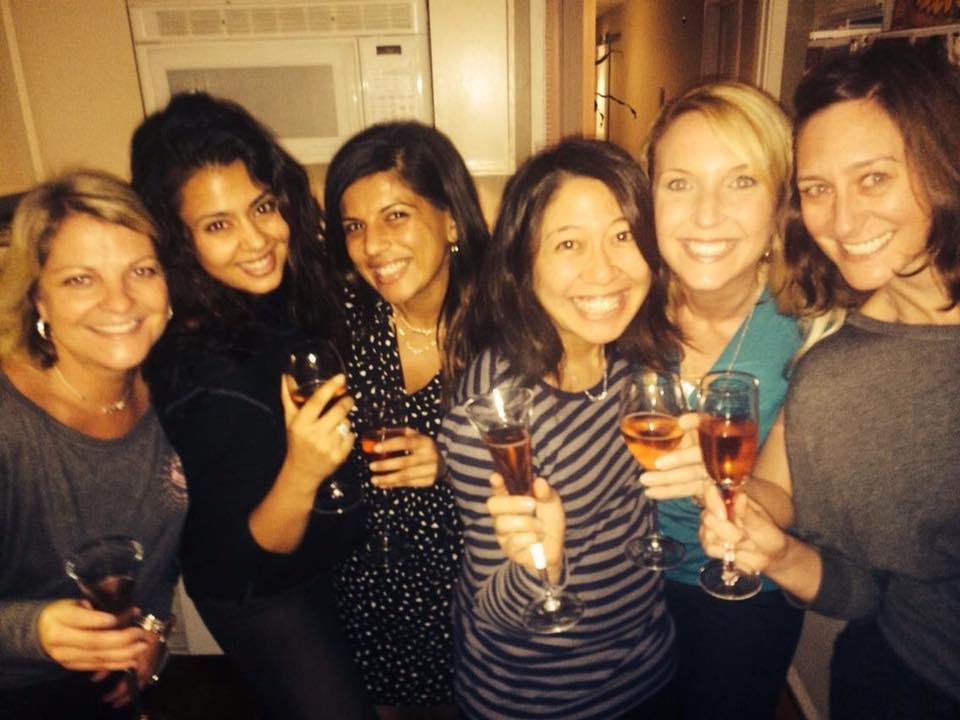 Summer Frundel,Radhika Shah Ragsdale,Shabnum Mehra Palomba,Komѐ Muller, Katherine Vicker May, Juliana Cochnar