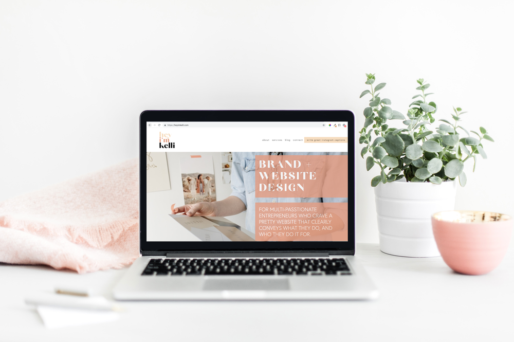 The Brand bio - The most importance sentence on your website.Brand Bio = What You Do + Who You Serve. A clear sentence that makes your clients understand what you do, and if you're the one to do it for them.