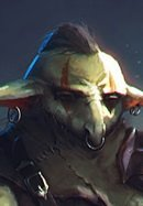 - Morb, Horizon Walker Ranger: Morb is a goblin, but very... different. He speaks plainly, wears clean clothes, has a well-kempt beard, and seems to play by his own rules. If you're around him long enough, he will tell you of his love of spicy food, the game Booyahg, and his homeland, Vasshak. Vasshak is a land that Morb claims is run by goblins, while humans live like savages in the wild, but he can't tell you how to get there. He's still trying to find his way back. When Morb's not stepping off into different planes of existence, he's fond of using a blade, whip, and crossbow if trouble shows up and despite the gruff exterior, he seems to have a soft spot for charming folk of this realm.