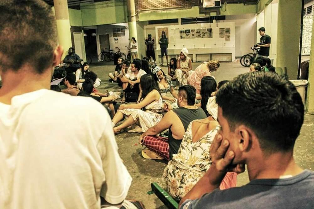 Ocupação no colégio Cleóbulo Duarte, em Santos (Ailton Martins - 12/15)
