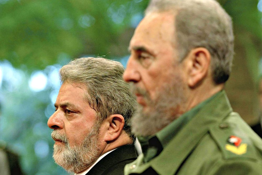 Lula e Fidel Castro (Ricardo Stuckert/Agência Brasil)