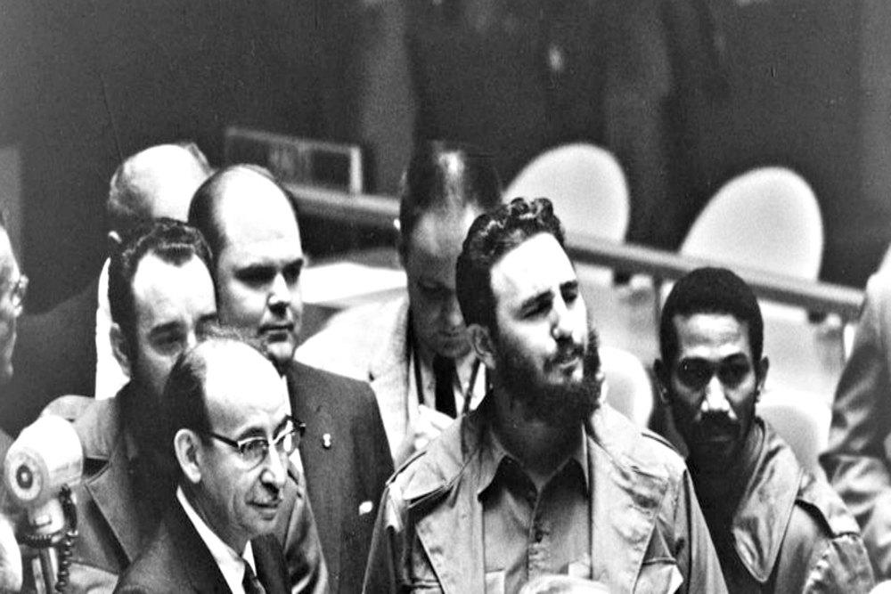 Fidel Castro na ONU em 1960  (Warren K. Leffler/Biblioteca do Congresso/Wikicommons)