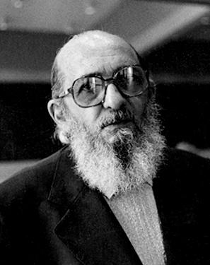Paulo Freire, em 1977 FOTO: Slobodan Dimitrov