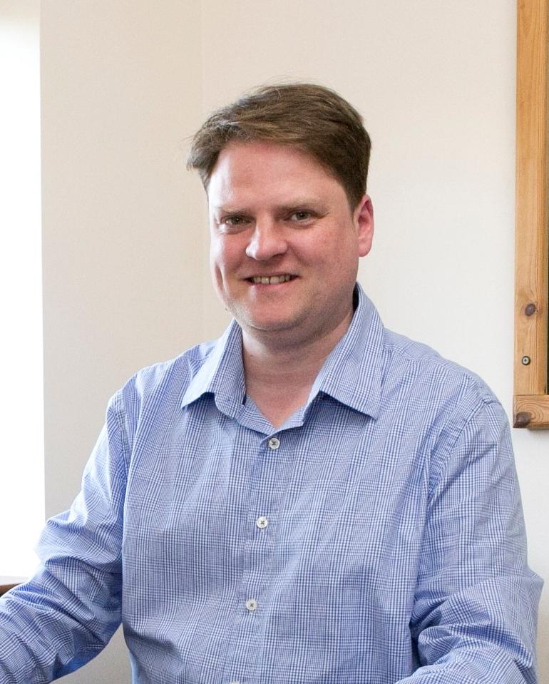 Adrian Oates, Fundraising Manager for Nene Park Trust