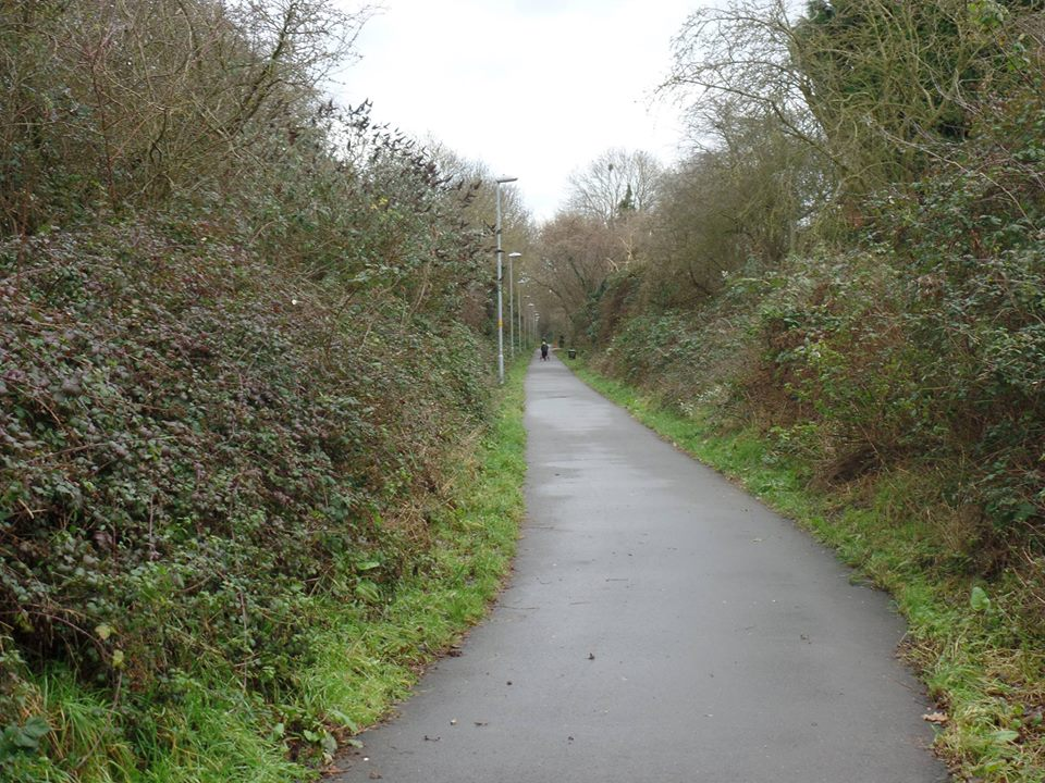 The Greenway in Rushden