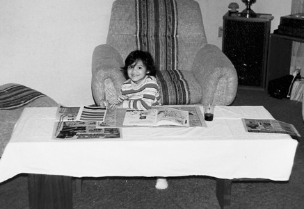 Averill Bell - Childhood Photo