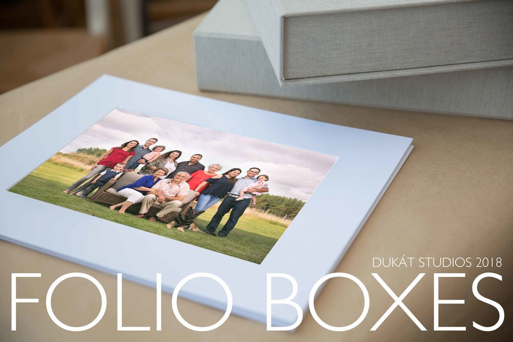 DUKÁT STUDIOS FOLIO BOXES