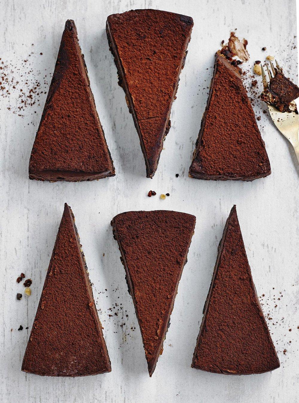VEGAN CHOCOLATE TORTE, WAITROSE