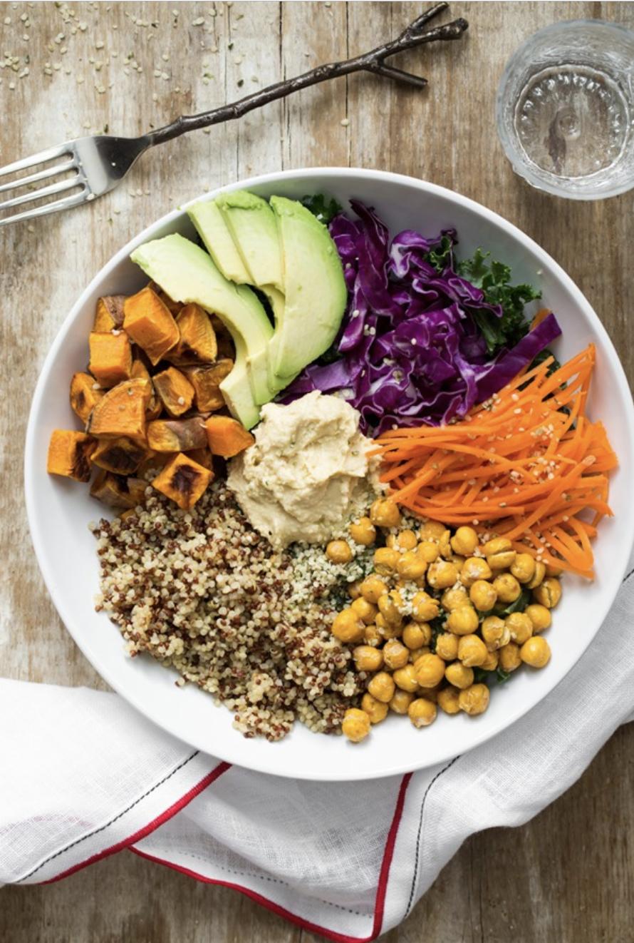 The big vegan cabbage bowl