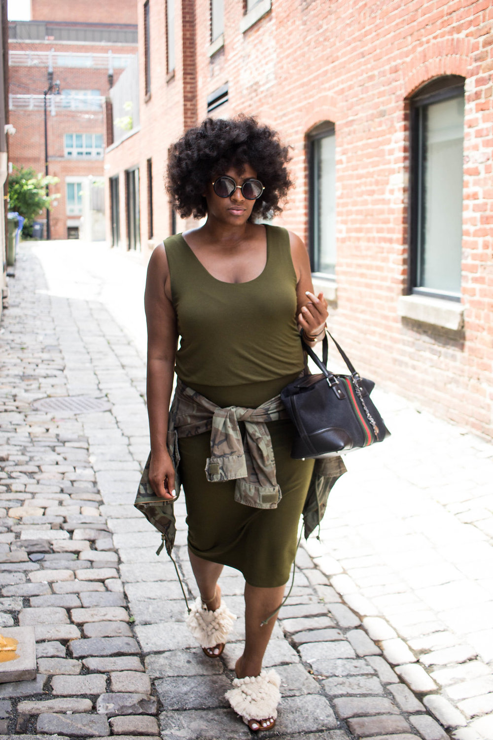 plus-size, natural, hair, fatigues, gucci
