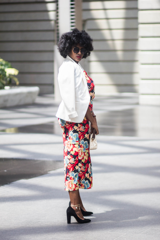 Washington, DC + Plus size + loft + ondia J + Natural + fashion + style + work