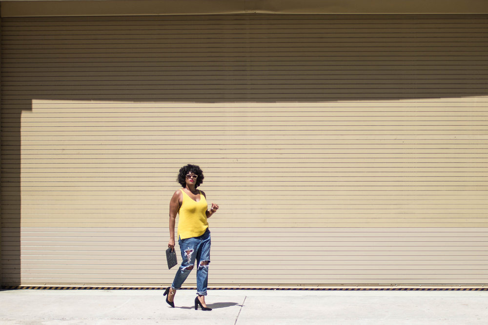 Washington, DC + Gap + Loft + fashion + style + natural hair + plus size