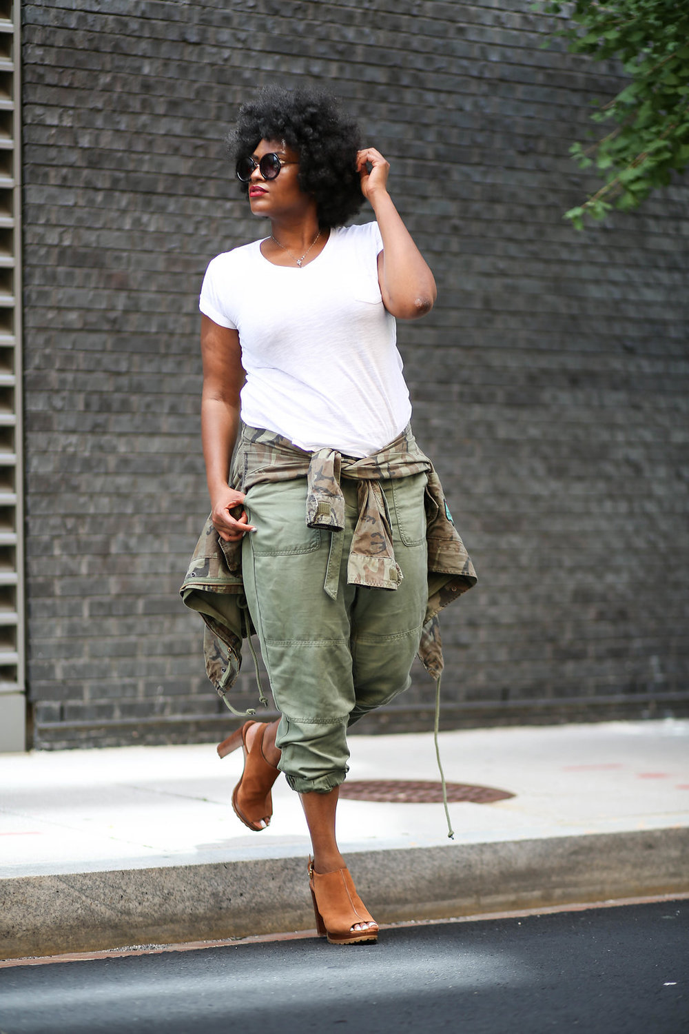 Top Washington, DC Style blogger + natural hair