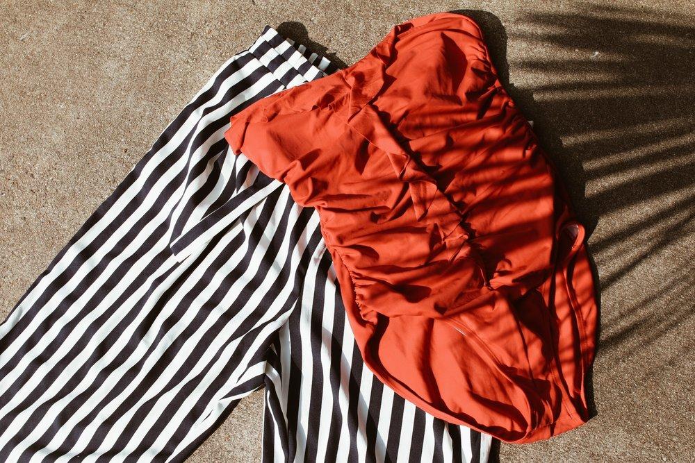 zara - stripe pants