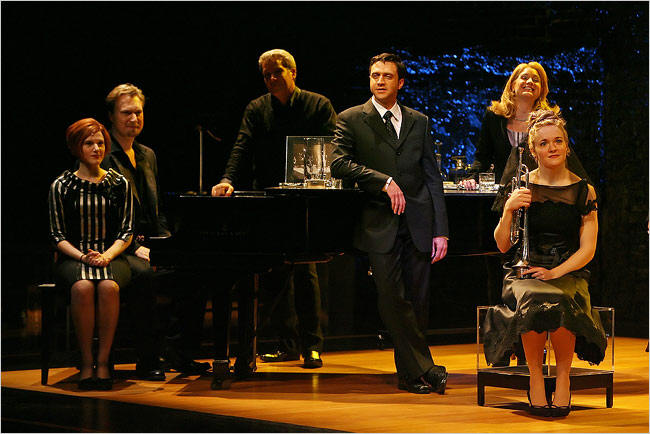 Company, Broadway (with Matt Castle, Keith Buterbaugh, Raul Esparza, Kristin Huffman and Jane Pfitsch),