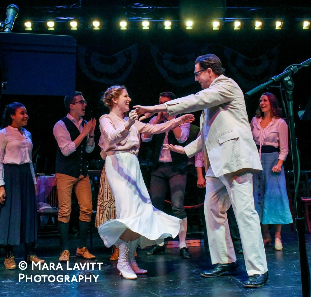 The Music Man, Yale University Theater (with Reg Rogers)