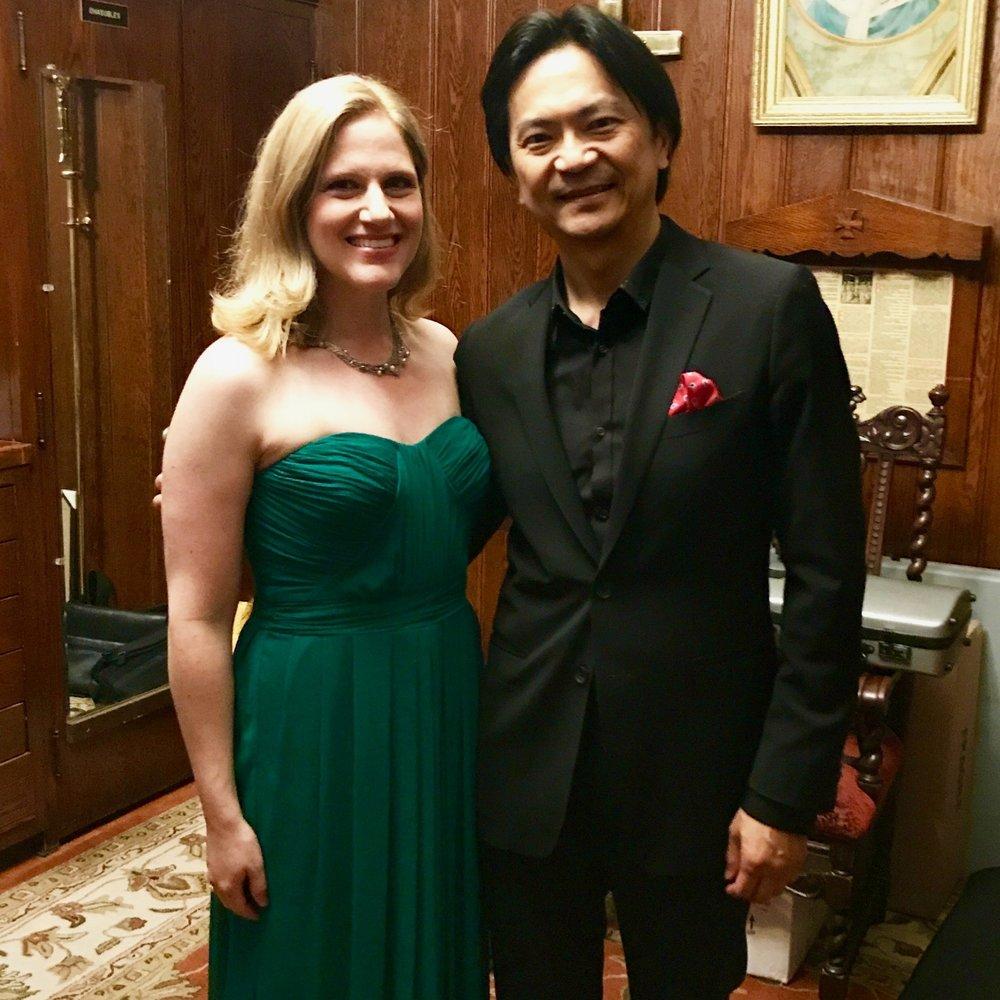 Mahler Symphony no. 4, Broadway Chamber Players, St. Malachy's Church (with conductor Keisuke Ikuma)
