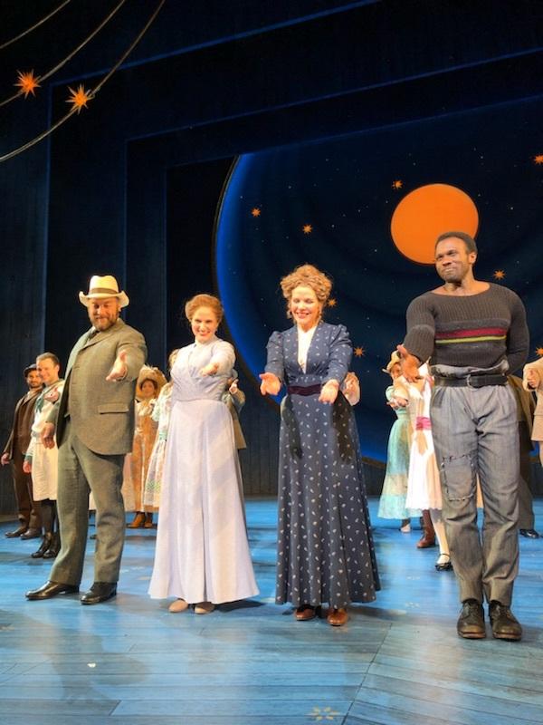 Julie, Carousel, Broadway (with Alexander Gemignani, Renee Fleming and Joshua Henry)