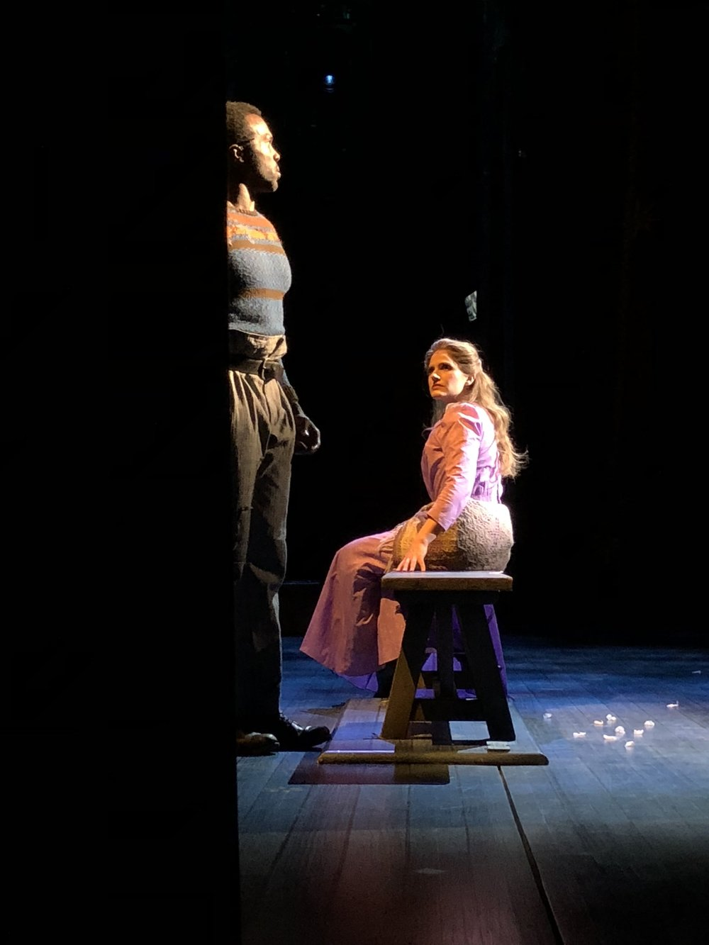 """""""If I Loved You"""", Julie, Carousel, Broadway (with Joshua Henry)"""