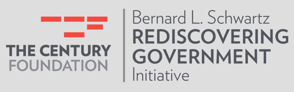 The Century Foundation - NEW YORK, NYThe Century Foundation's Bernard L. Schwartz Rediscovering Government Initiative was founded in 2011 with one broad mission: countering the anti-government ideology that has grown to dominate political discourse in the past three decades.
