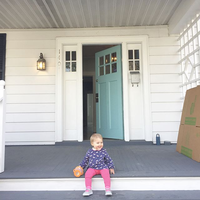 We officially said a very bittersweet goodbye to this house today. So many memories made within these walls, and the very best was bringing our girl home. We are excited for the next chapter, but we will certainly miss this one! 🏡❤️