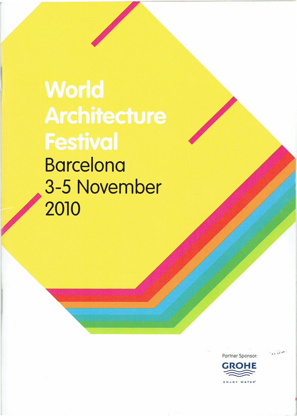 World Architecture Festival   Nov 2010  The Eleanor and Wilson Greatbatch Pavilion is a finalist at the World Architecture Festival. Sonya Lee attends the presentations with Toshiko Mori in Barcelona, Spain.
