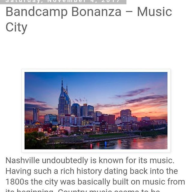 """Honored to be listed with some amazing artist and albums in this Nashville profile piece on The Ripple Effect """"This one is great for fans of darker more rock oriented Americana of the likes of Jason Isbell, Bruce Springsteen, Ryan Adams and Lucero. It's a very well constructed album that as limited filler and flows very nicely."""" #americana #rock #nashville"""