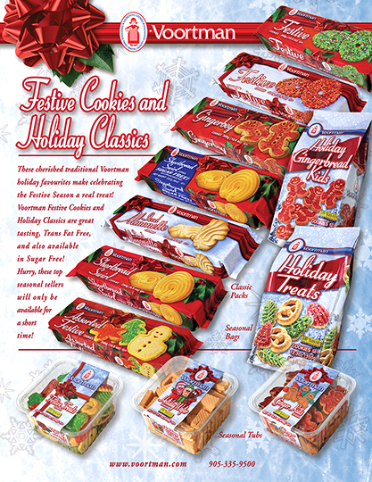 Voortman Cookies Ltd Zad