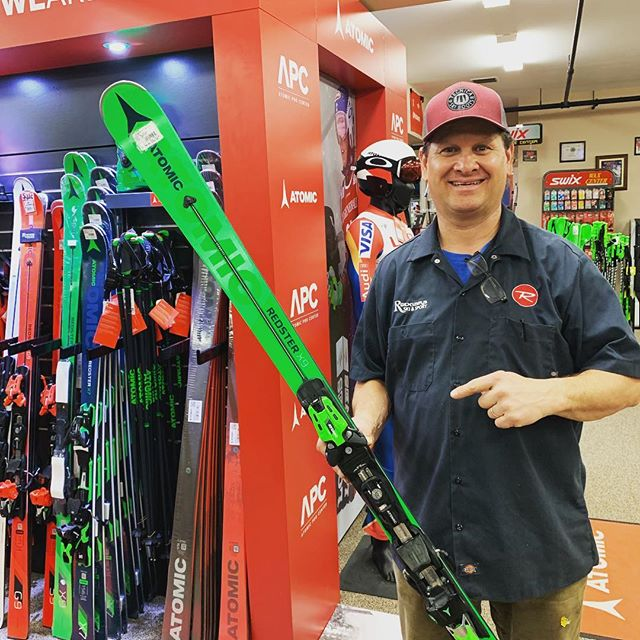Jon Saffo likes the @atomicski  We do too.  #ski #mountians #skiing #atomic