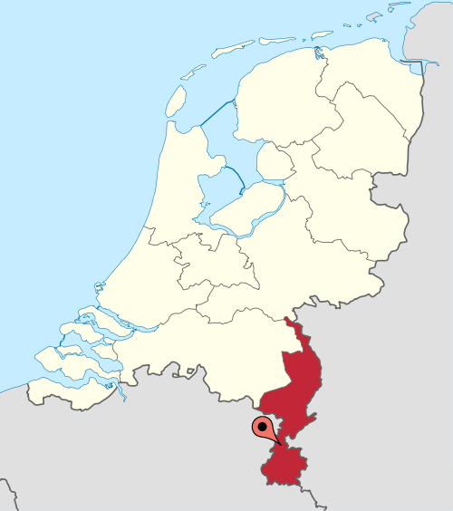 Sittard-Location-in-Netherlands