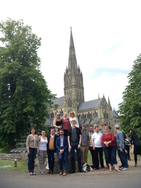 The South Iceland Chamber Choir at Salisbury Cathedral
