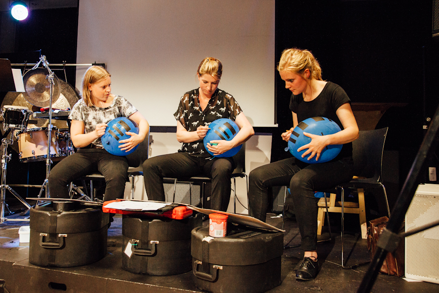 Pinquins percussion trio from Oslo, Norway