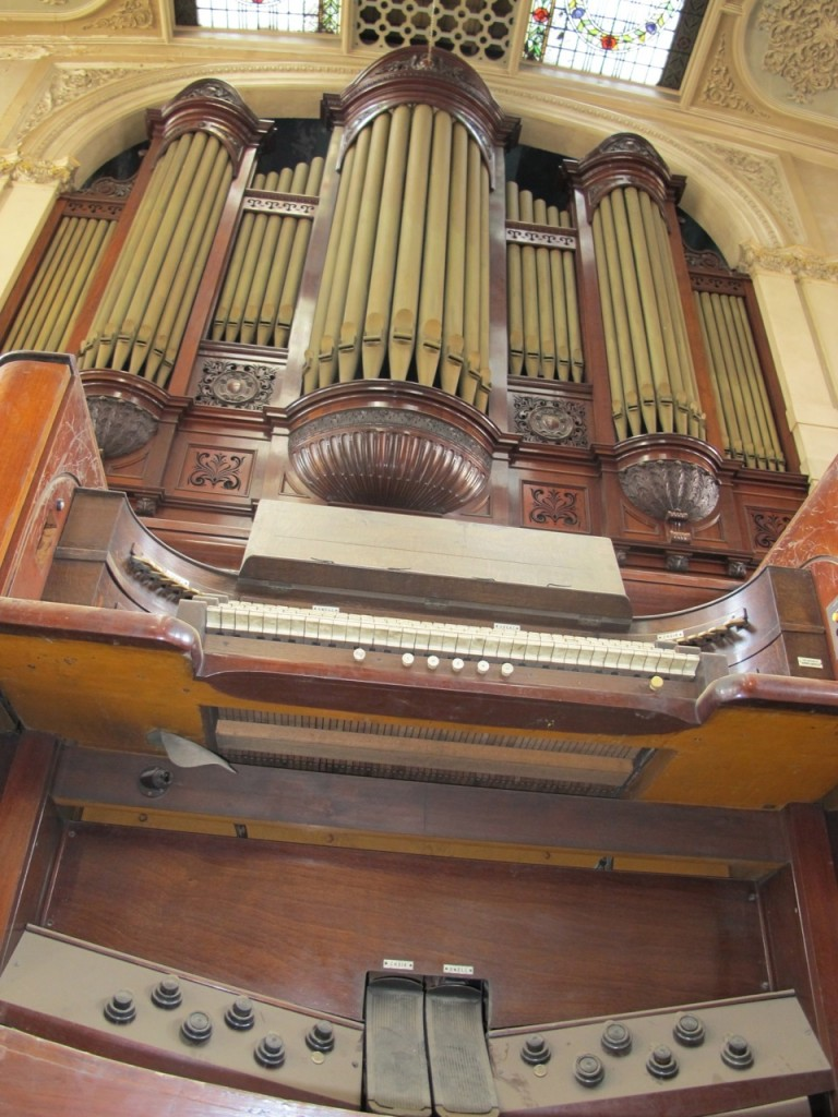 The Organist's view