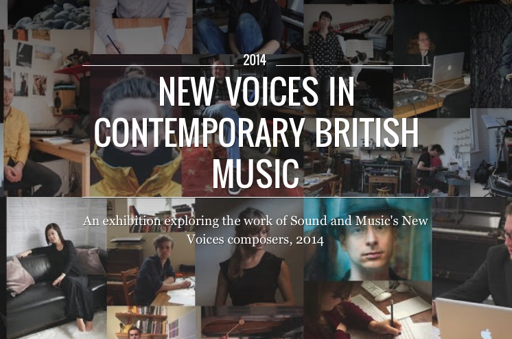 New Voices in Contemporary British Music - Google Cultural Institute front page