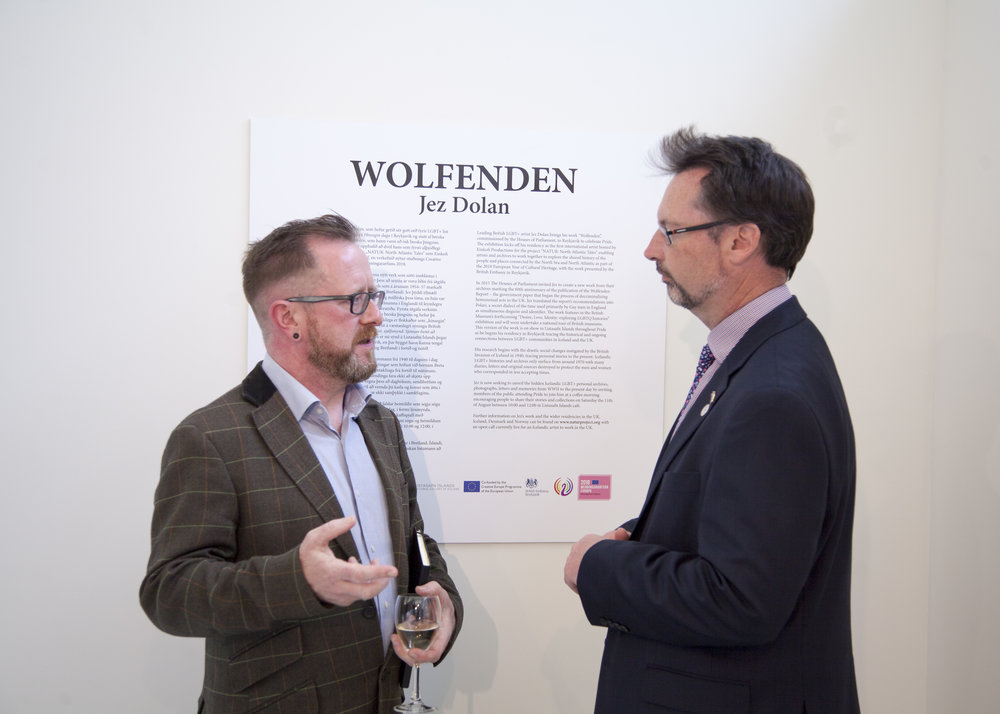 Wolfenden at the National Gallery of Iceland