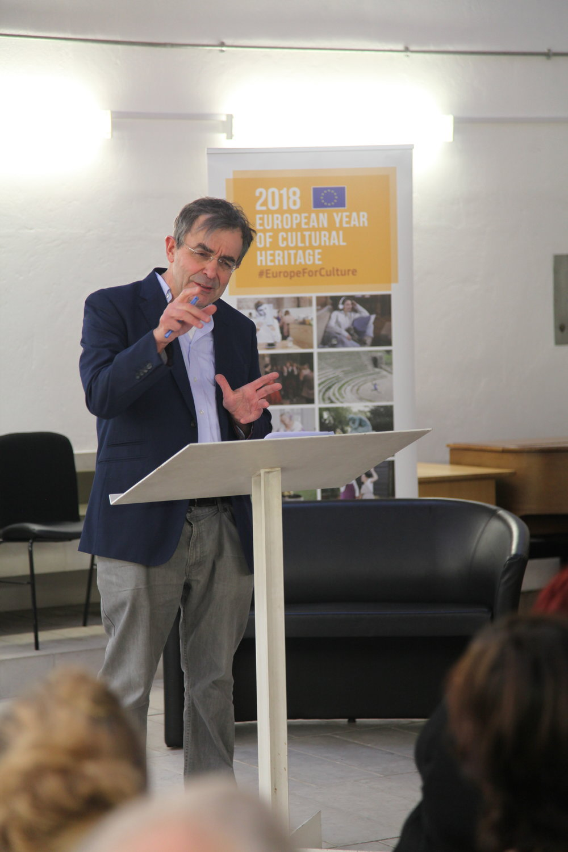 Prof. Franco Bianchini (Director, CPPI)