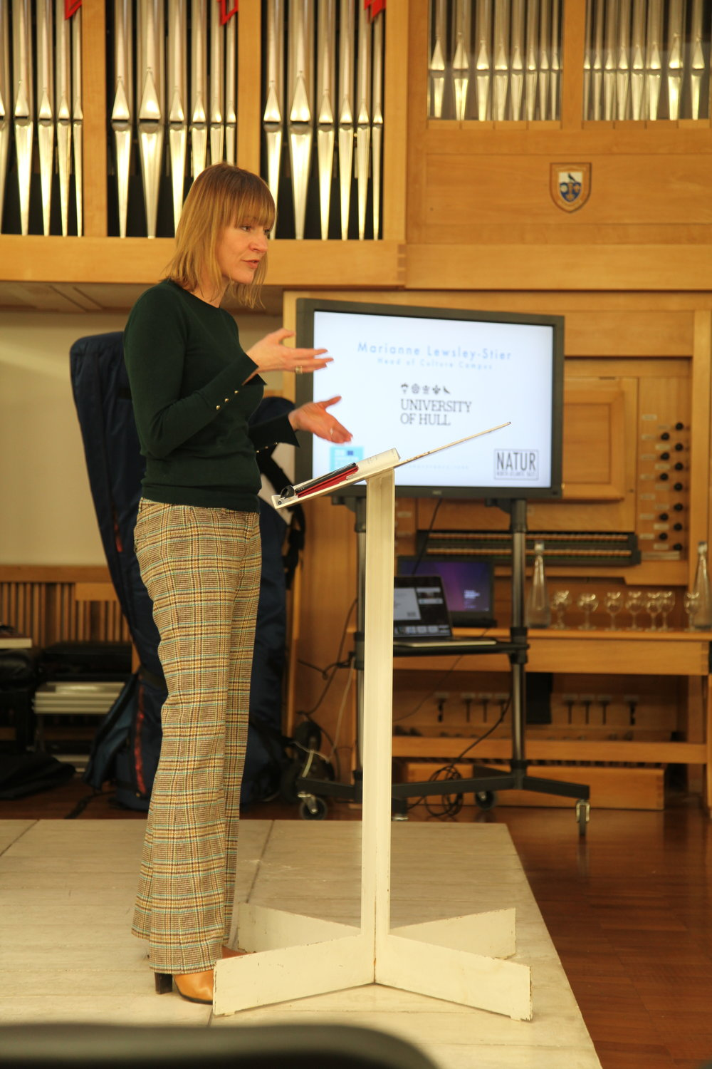 Marianne Lewsley-Stier (Head of Culture Campus, University of Hull)
