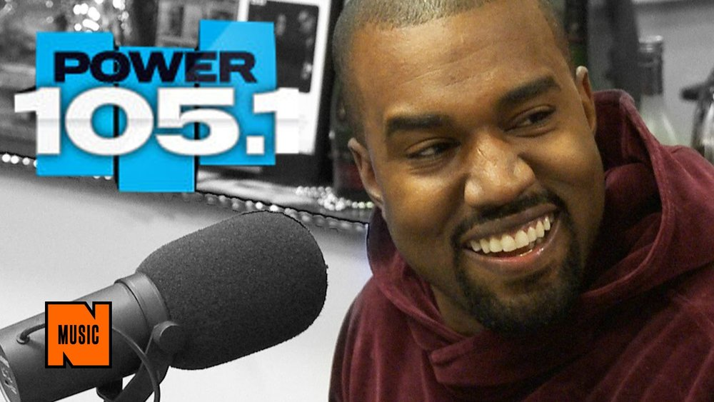 Kanye West infamous appearance on 105.1's the Breakfast Club that sparked a great deal of controversy around his niece Kylie Jenner and ex-girlfriend Amber Rose