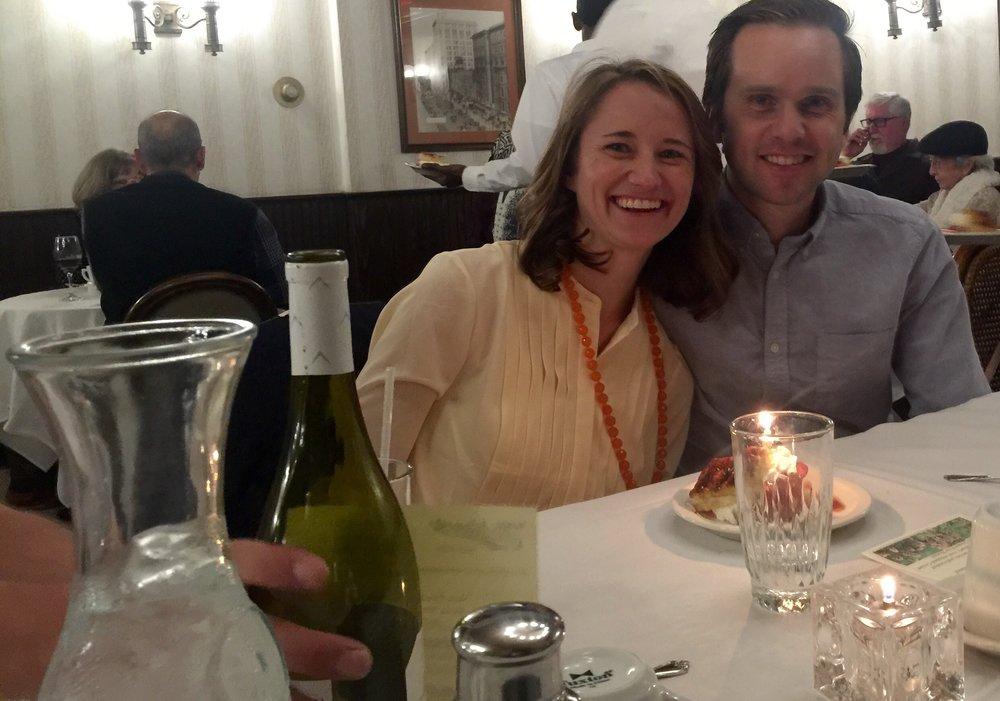 Guests at Morel Dinner