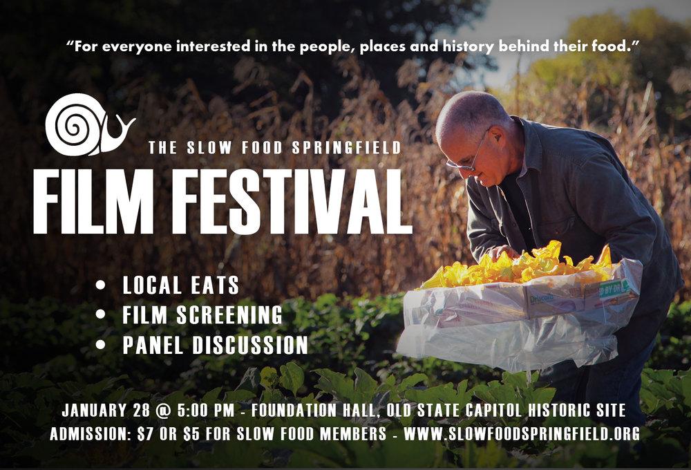 Slow Food Springfield 2017 Film Fest
