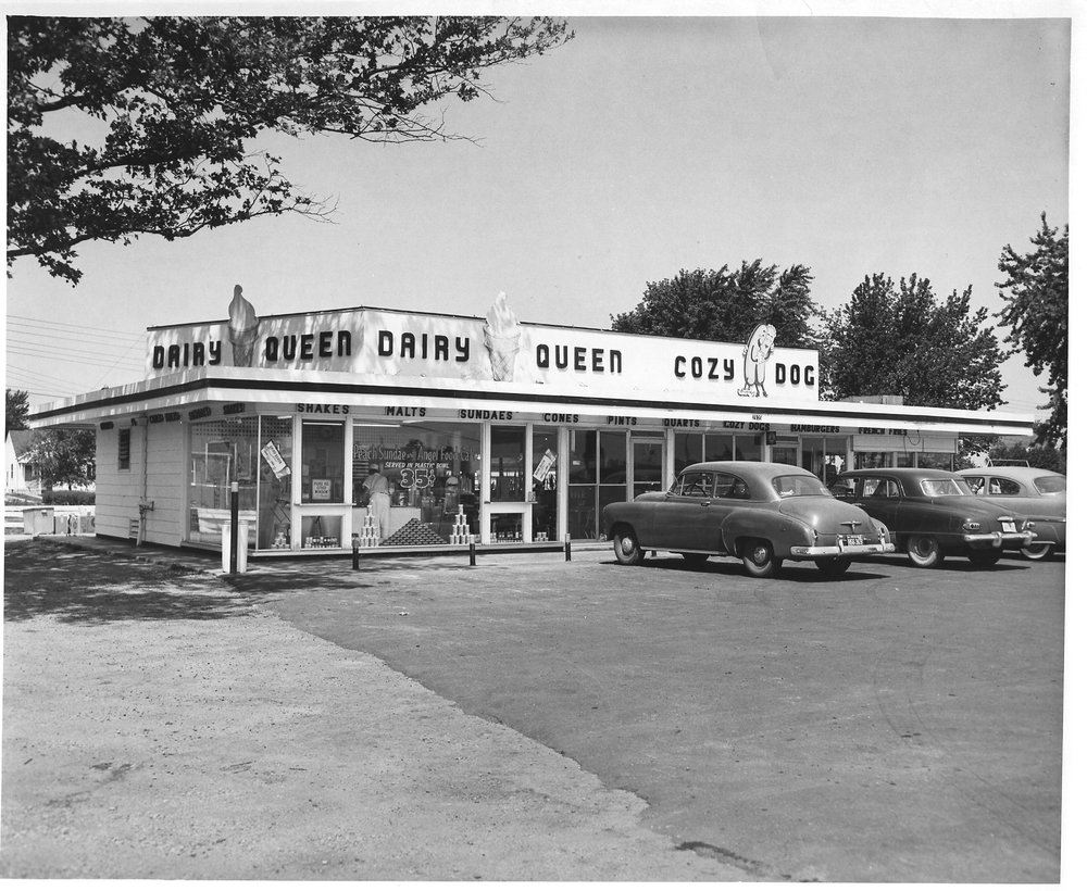 Cozy Dog Drive In.  Original Location South Sixth Street.